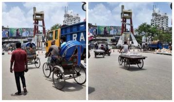 নারায়ণগঞ্জে তৃতীয় দিনের লকডাউন চলছে ঢিমেতালে