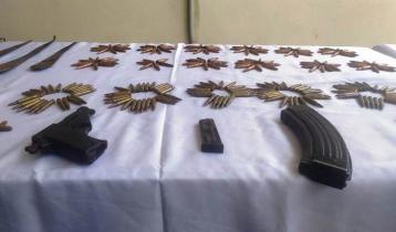 বান্দরবানে সেনা অভিযানে অস্ত্র-গুলিসহ মাদক জব্দ