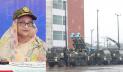 সেনাবাহিনীকে মাল্টিপল লঞ্চ রকেট সিস্টেম প্রদান করলেন প্রধানমন্ত্রী
