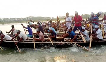 রাঙ্গাবালীতে ঐতিহ্যবাহী নৌকা বাইচ প্রতিযোগীতা