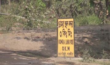 কঠোর বিধিনিষেধেও ভোমরা স্থলবন্দরে আমদানি-রপ্তানি চলবে