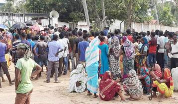 দাবি মানায় কাজে ফিরছে নালুয়া চা বাগানের শ্রমিকরা