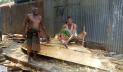 ভাঙ্গুড়ায় নৌকা তৈরিতে ব্যস্ত কারিগররা
