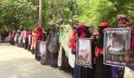 বাগেরহাটে হত্যা মামলার আসামিদের গ্রেপ্তারের দাবিতে মানববন্ধন