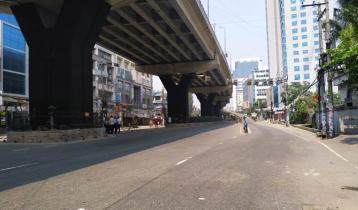 কঠোর লকডাউনে জনশূন্য চট্টগ্রাম নগরী