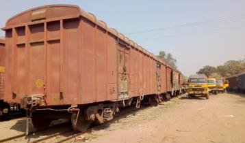 ভারত থেকে ১৭৭ পণ্যবাহী ওয়াগন এসেছে হিলি রেল স্টেশনে