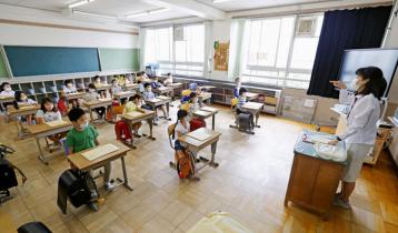করোনাকালে জাপানের শিক্ষাপ্রতিষ্ঠান বন্ধ ছিল মাত্র ২ মাস