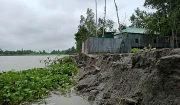 তিস্তার পানি কমলেও আতঙ্ক কমছে না বাসিন্দাদের