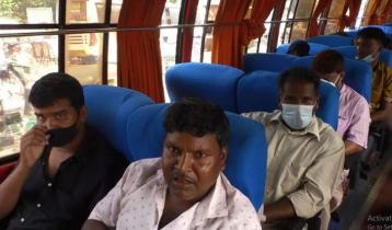 ময়মনসিংহ থেকে দূরপাল্লার যানবাহন চালু, মানা হচ্ছে না স্বাস্থ্য বিধি