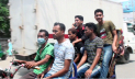 লকডাউনের চতুর্থ দিন, নারায়ণগঞ্জে স্বাস্থ্যবিধি উপেক্ষিত