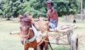 জীবনযুদ্ধে দমে যাননি এক পা ও এক হাত বিহীন মিজানুর