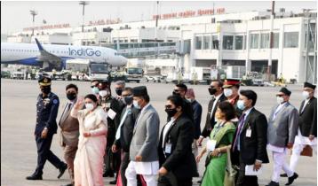 ঢাকা ছাড়লেন নেপালের রাষ্ট্রপতি