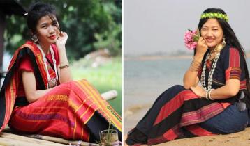 নারী বান্ধব শিল্প : কোমর তাঁতে পিনন হাদি