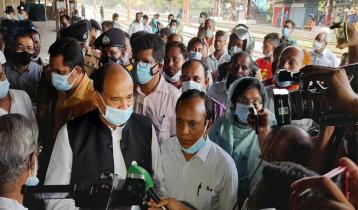 'স্বাধীনতাবিরোধীরা ব্রাহ্মণবাড়িয়া রেল স্টেশনে হামলা চালিয়েছে'