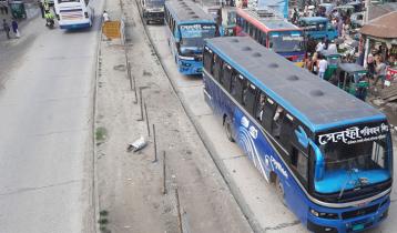 ঢাকা-বঙ্গবন্ধু সেতু মহাসড়কে আজো যানবাহনের চাপ