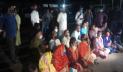 শাহবাগ থানার সামনে সাংবাদিকদের বিক্ষোভ