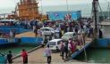 শিমুলিয়া-বাংলাবাজার নৌরুটে উভয়মুখী যাত্রী চাপ