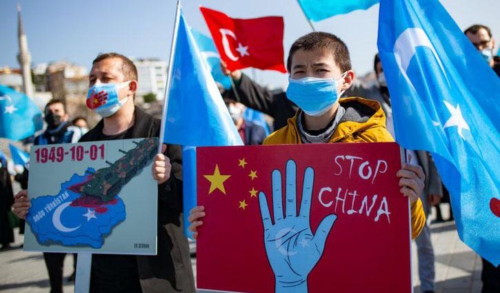 'মানবতার বিরুদ্ধে অপরাধ করছে চীন'