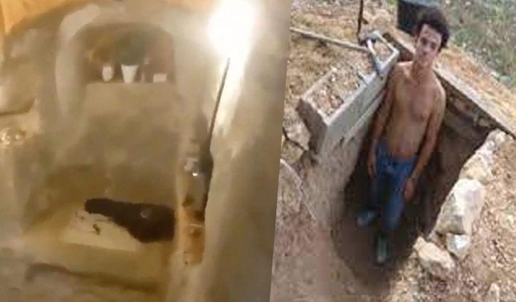 ৬ বছর মাটি খুঁড়ে নিজেই বানালেন পাতালঘর