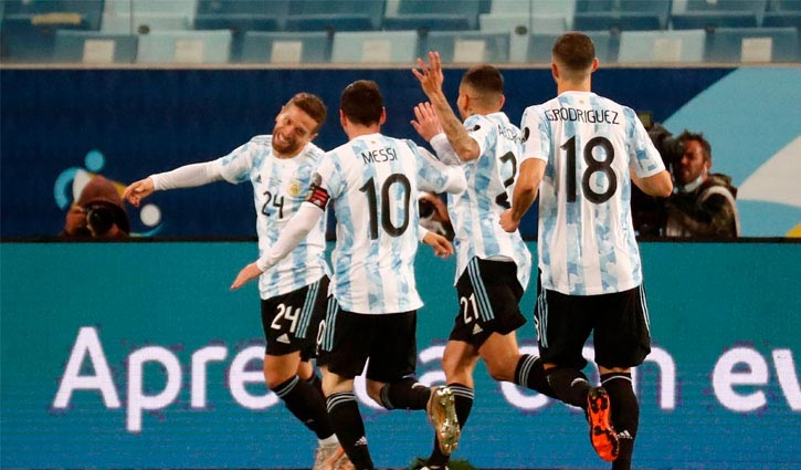 Messi guides Argentina to 4-1 win over Bolivia