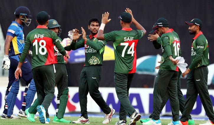 Tigers beat Sri Lanka in 1st ODI