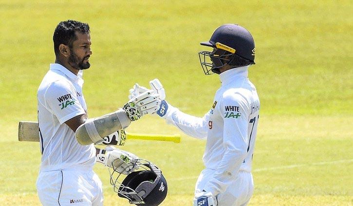 Sri Lanka cross 400 runs