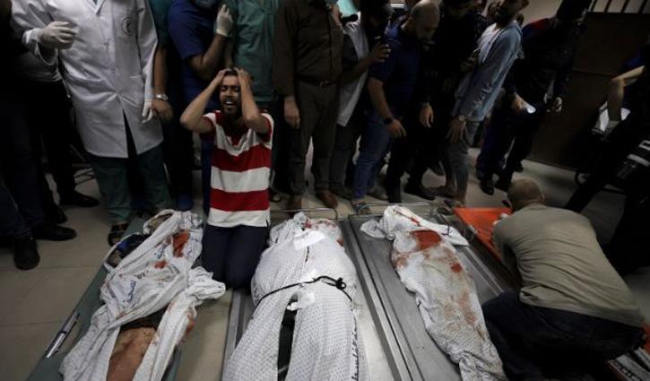 Israeli hit on Gaza refugee camp kills 10