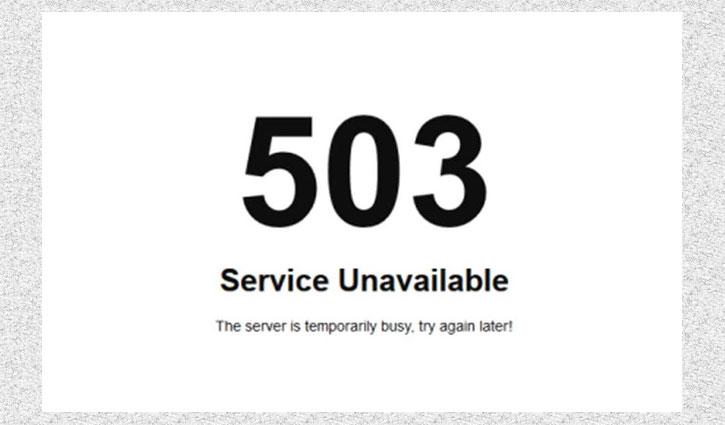 World's leading newspaper websites down