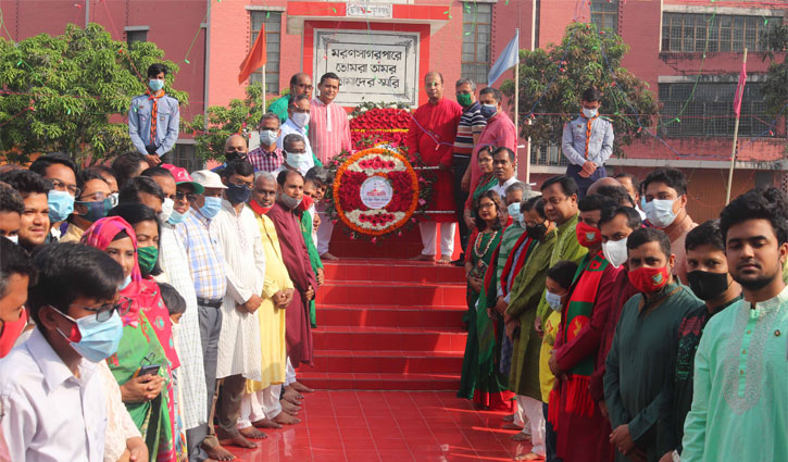 Golden jubilee of independence celebrated at BAU