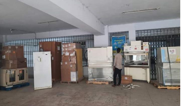 JnU gets two PCR machines