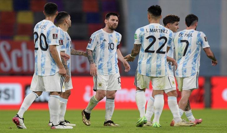Messi scores stunner in Argentina draw