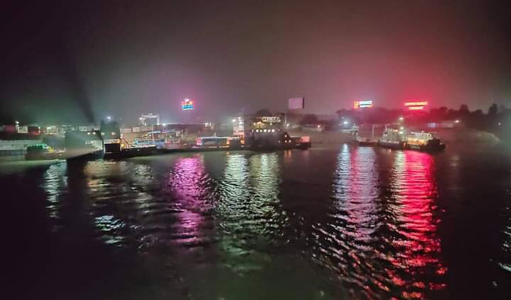 Ferry service on Paturia-Daulatdia route to remain halted from today