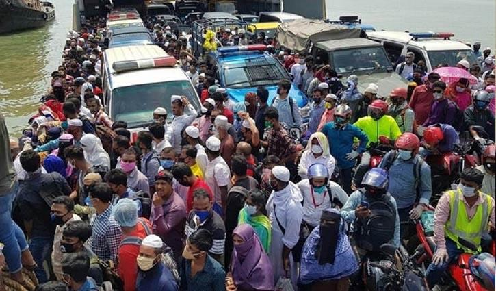 Mad rush at Banglabazar ferry ghat, 5 dead