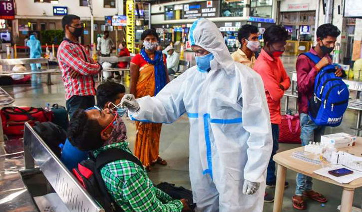 India records highest number of daily infections again