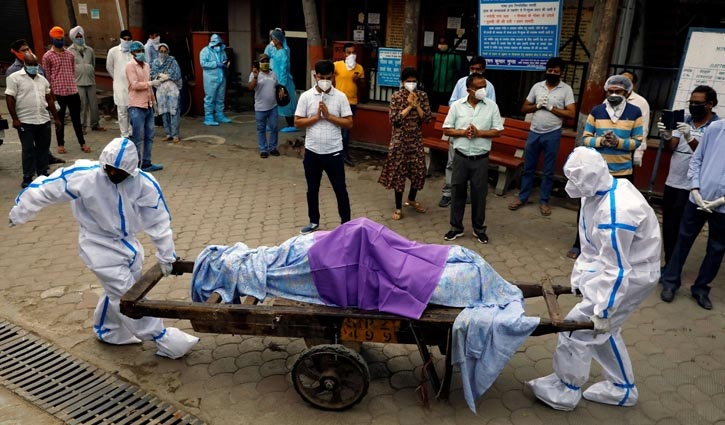 India records 3,523 deaths, 4,01,993 cases in a day