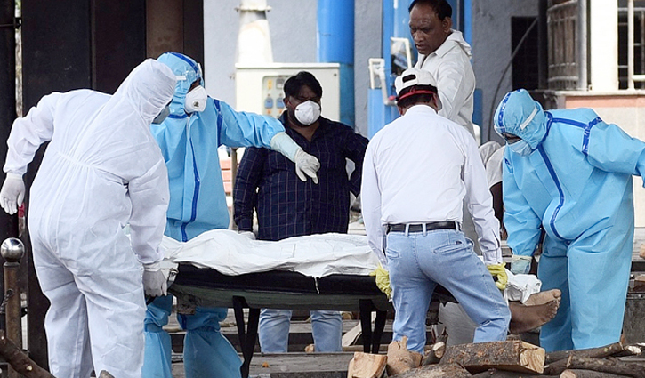 India reports record 4329 Covid-19 deaths in 24 hours