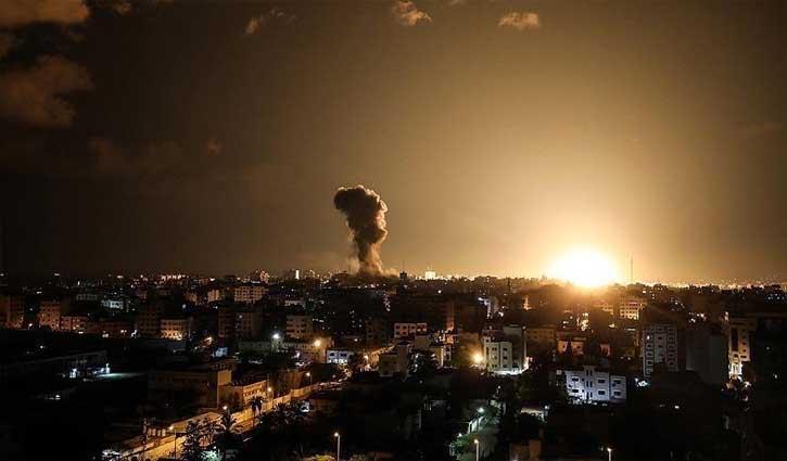 20 killed in Israeli air raids on Gaza