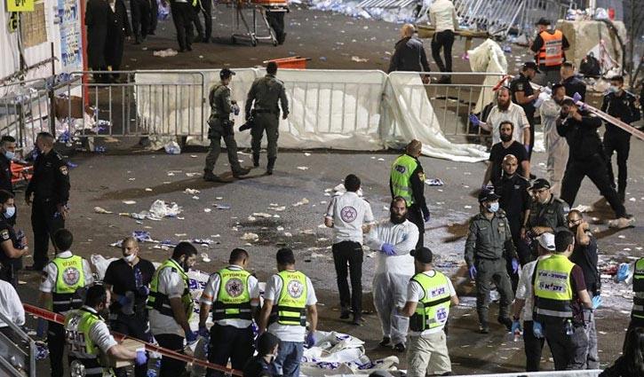 44 killed in Israel pilgrimage stampede