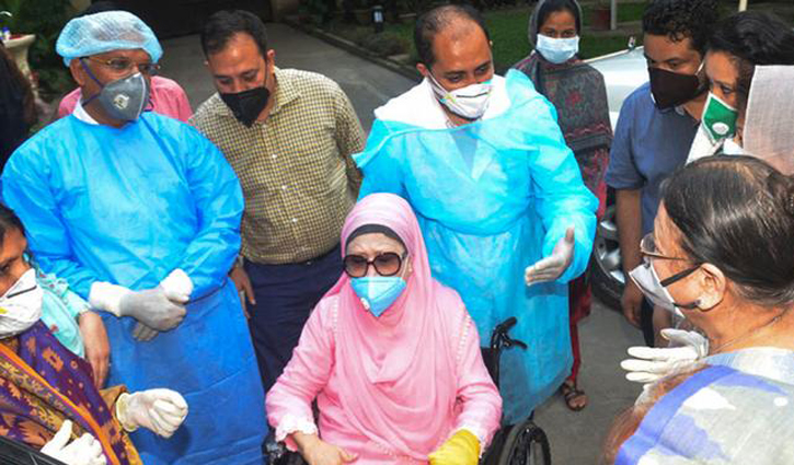 Khaleda Zia's health condition improves further