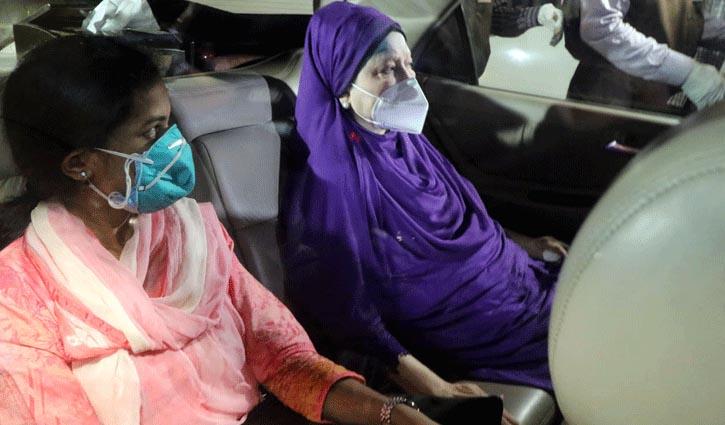Khaleda taken to hospital for CT scan