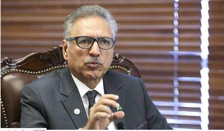 Pakistan President tests COVID-19 positive