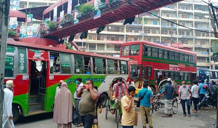 Public transports plying inside capital