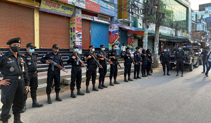 All-out lockdown begins in Rajshahi