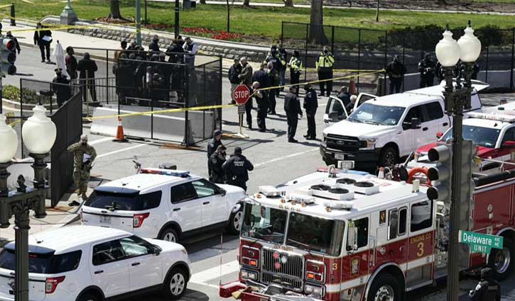 Two killed in vehicle attack on U.S. Capitol