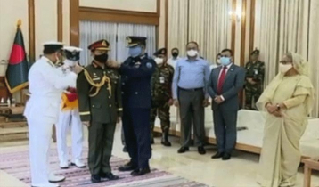 General SM Shafiuddin takes charge as army chief