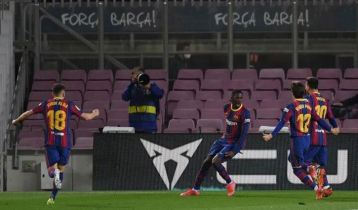 Barcelona go second after late win over Valladolid