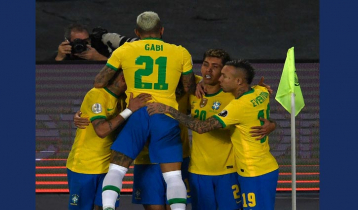 Brazil continue to win in a row