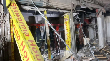 Terrible explosion at Mogbazar, 7 killed
