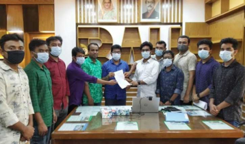 BAU students submit memorandum for examination