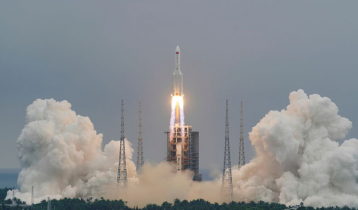 Debris from Chinese rocket crashes into Indian Ocean